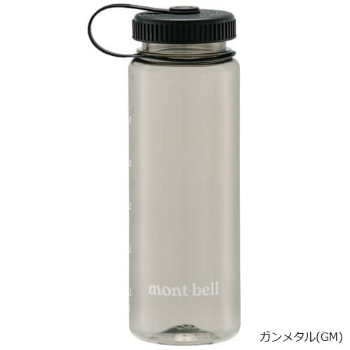 mont-bell(モンベル) クリアボトル0.75L ガンメタル 1124420