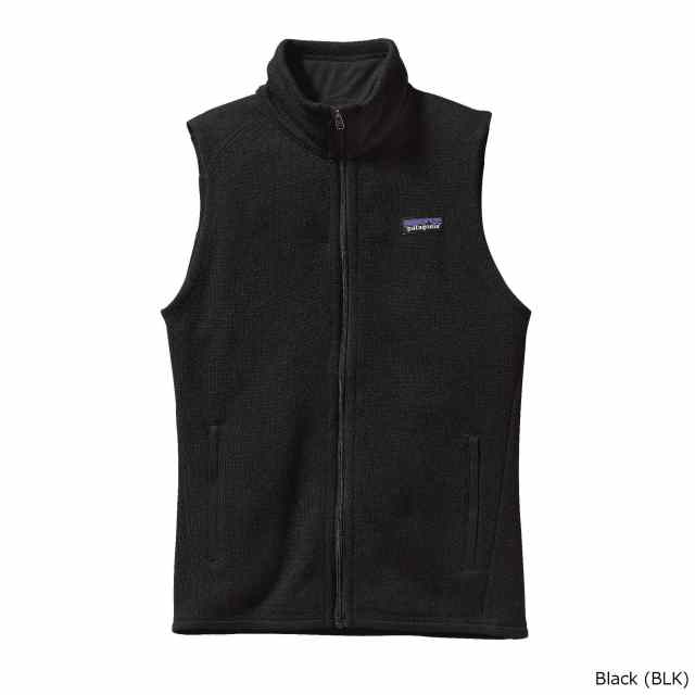 patagonia(パタゴニア) W's Better Sweater Vest BLK 25886