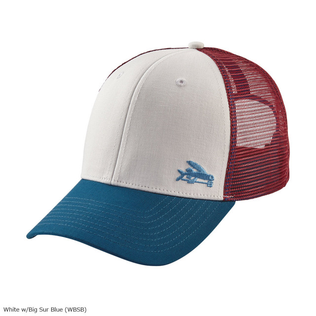 patagonia(パタゴニア) Small Flying Fish Trucker Hat WBSB 38063