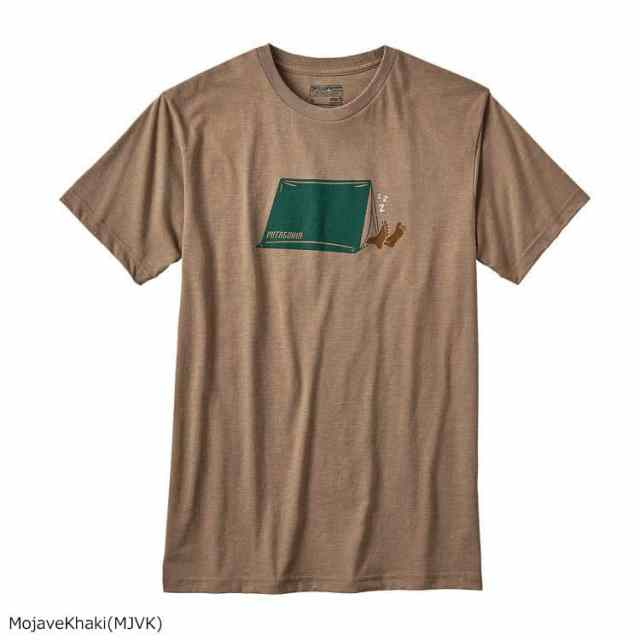 patagonia(パタゴニア) メンズ・ナッピング・キャンパー・コットン/ポリ・Tシャツ MJVK 39055