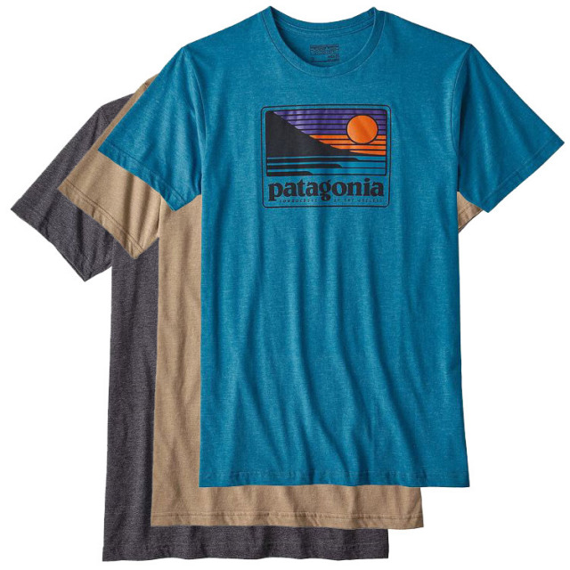 patagonia(パタゴニア) M's Up & Out Cotton/Poly T-Shirt 39112