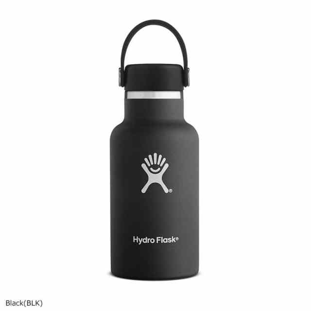 HydroFlask(ハイドロフラスク) 12oz Standard Mouth Black 5089011
