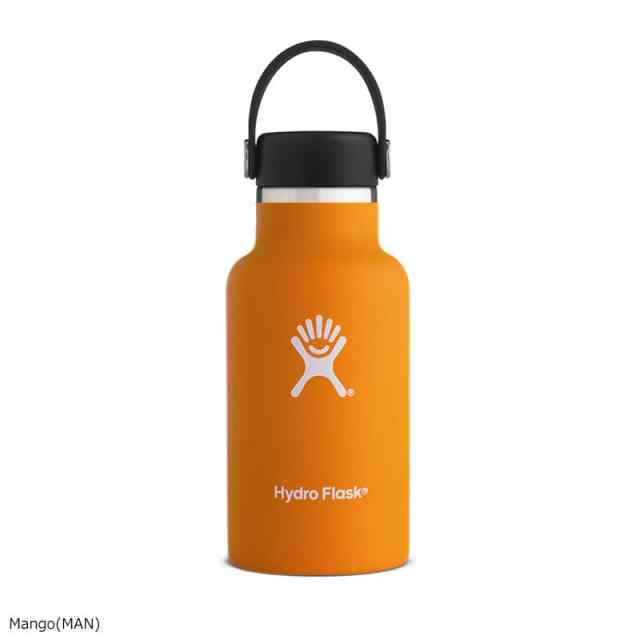HydroFlask(ハイドロフラスク) 12oz Standard Mouth Mango 5089011
