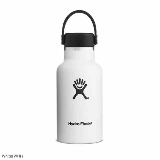 HydroFlask(ハイドロフラスク) 12oz Standard Mouth White 5089011