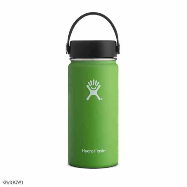 HydroFlask(ハイドロフラスク) 16oz Wide Mouth With Flex Cap Kiwi 5089022