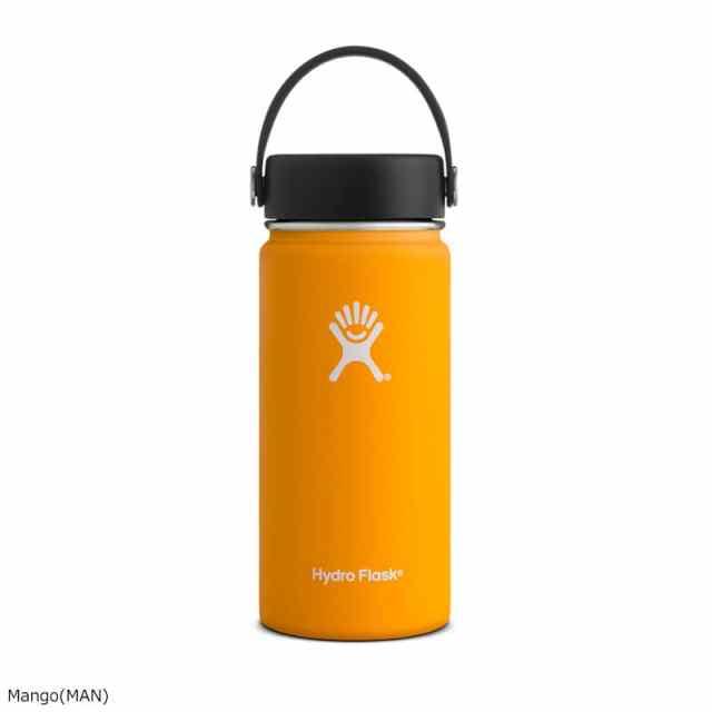 HydroFlask(ハイドロフラスク) 16oz Wide Mouth With Flex Cap Mango 5089022