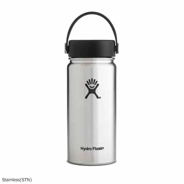 HydroFlask(ハイドロフラスク) 16oz Wide Mouth With Flex Cap Stainless 5089022