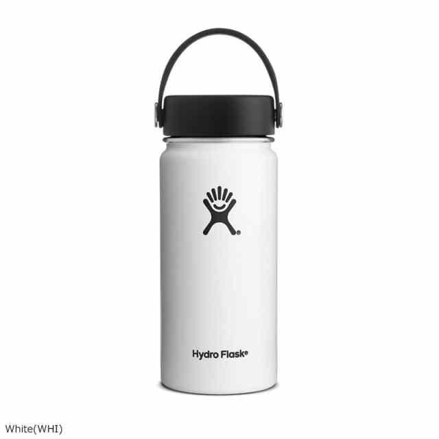 HydroFlask(ハイドロフラスク) 16oz Wide Mouth With Flex Cap White 5089022