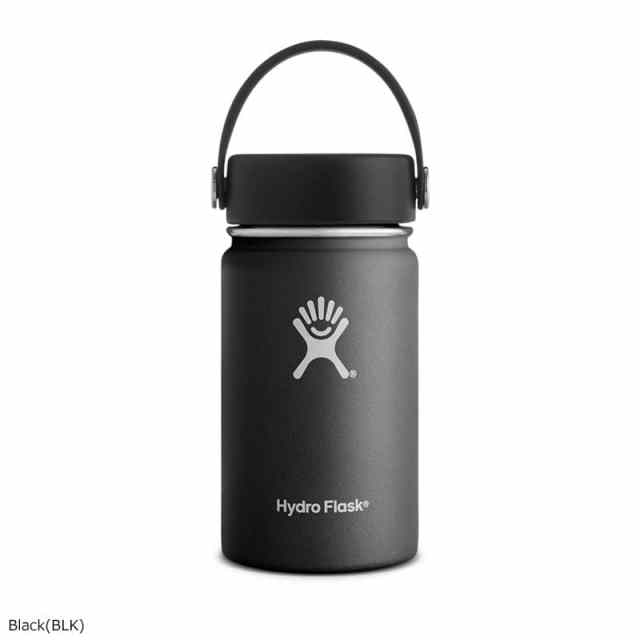 HydroFlask(ハイドロフラスク) 12oz Wide Mouth Black 5089031