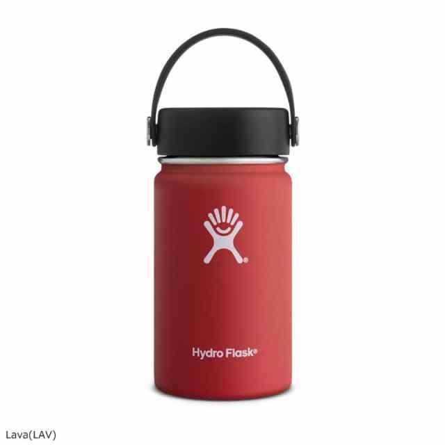 HydroFlask(ハイドロフラスク) 12oz Wide Mouth Lava 5089031
