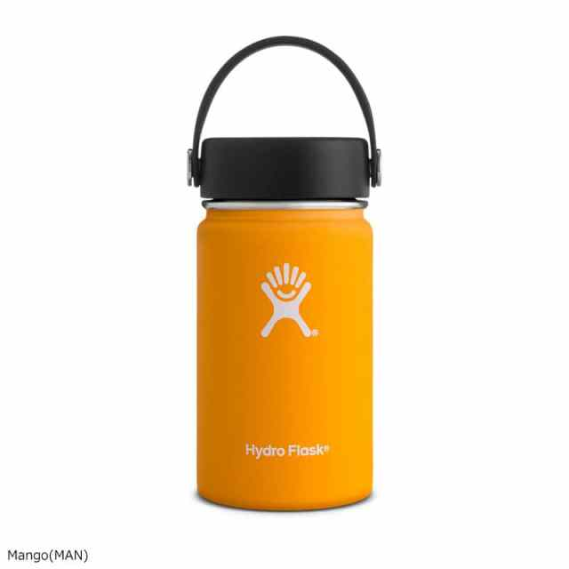 HydroFlask(ハイドロフラスク) 12oz Wide Mouth Mango 5089031