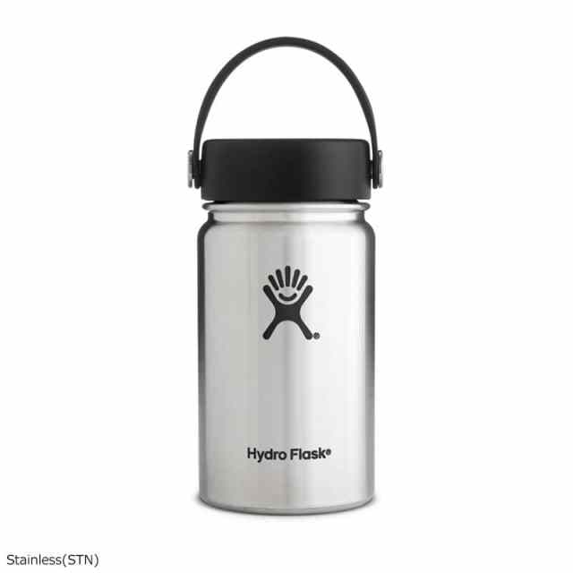 HydroFlask(ハイドロフラスク) 12oz Wide Mouth Stainless 5089031