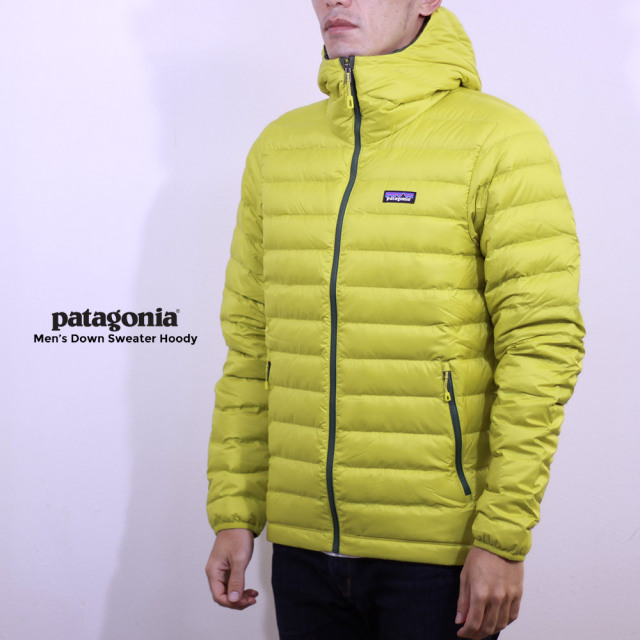 patagonia(パタゴニア) M's Down Sweater Hoody 84701 着用イメージ