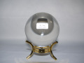 天然本水晶丸玉 84.9ミリ