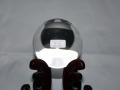 天然本水晶丸玉 88.4ミリ