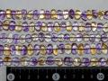 アメジスト・シトリンのコンビ 約10ミリ×8ミリのさざれ石 【bz-amecit】【定型外可】