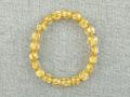 ゴールドルチルクオーツ ブレスレット 9ミリ