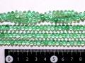 グリーンフローライト 座布団型 約6ミリ×4ミリ
