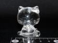 水晶猫彫刻(小) 約43グラム