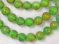 グリーンターコイズ 12ミリ 【bz-greenturquoise-12】【定型外可】