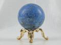 ラピスラズリ丸玉(台付) 31ミリ