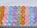 染めクラック水晶 マルチ 8ミリ