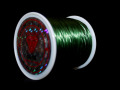 オペロンゴム ダークグリーン  約0.8ミリ×80メートル巻