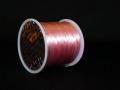オペロンゴム ライトピンク  約0.8ミリ×80メートル巻