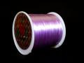 オペロンゴム ライトパープル  約0.8ミリ×80メートル巻