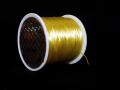 オペロンゴム ライトイエロー  約0.8ミリ×80メートル巻