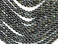 レインボーオブシディアン 5ミリ 【bz-rainbowobsidian-5】【定型外可】
