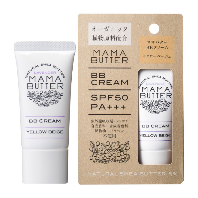 MAMA BUTTER(ママバター) BBクリーム イエローベージュ SPF50PA+++ 30g