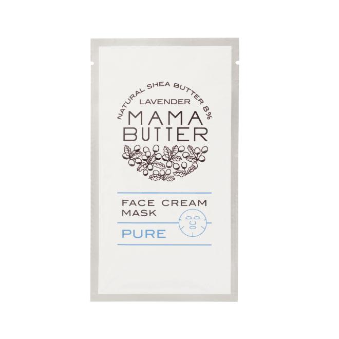 MAMA BUTTER(ママバター)フェイスクリームマスク ピュア 1枚