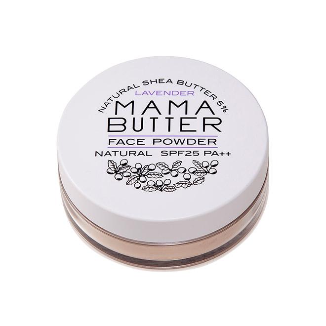 MAMA BUTTER(ママバター) フェイスパウダー ナチュラル SPF25 PA++ 8g