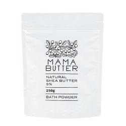 MAMA BUTTER(ママバター) バスパウダー 無香料 スプーン付き 250g