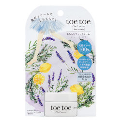 toetoe(トゥトゥー) もちもちフットクリーム 26g