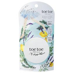 toetoe(トゥトゥー) さらさらフットパウダー 7g