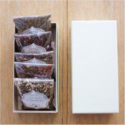 五行茶 5種(木、火、土、金、水)セット