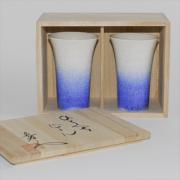藍染水滴ひとくちビール(ペア)
