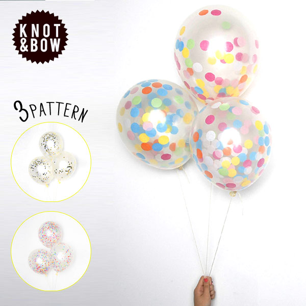 KNOT & BOW 	KNOT & BOW D.I.Y CONFETTI BALLOONS