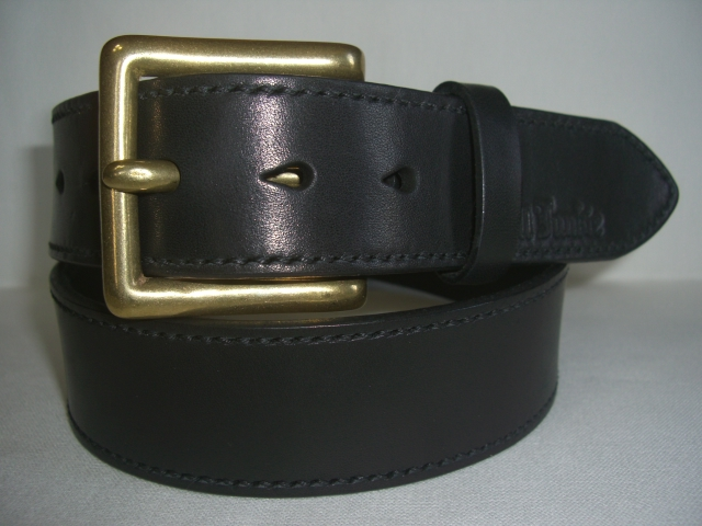 Skull Junkie LEATHER/ステッチBELT(L)