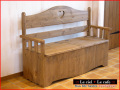 カントリー家具ベンチ収納ベンチ・ベンチボックス・ベンチチェスト