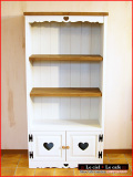 カントリー家具パイン家具本棚ブックシェルフ