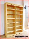 カントリー家具本棚ブックシェルフ