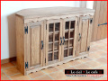 カントリー家具 コーナーテレビボード