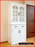 ナチュラルカントリー家具 パイン家具 カップボード 食器棚