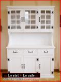 カントリー家具カップボード(食器棚)