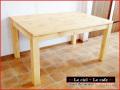 カントリー家具・パイン家具・ダイニングこたつテーブル