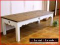 カントリー家具リビングテーブル