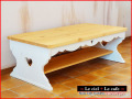 カントリー家具ローテーブル